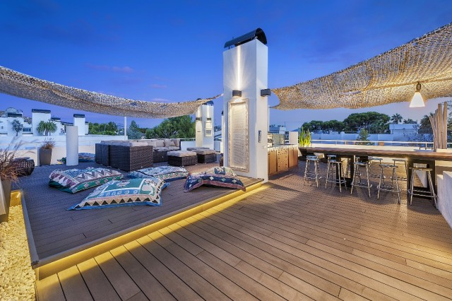 4 bedroom penthouse apartment Bellresguard Puerto Pollensa