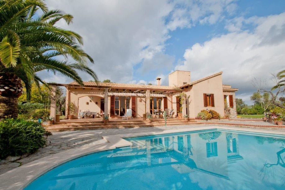 Stone built finca in Arta with guest house & panoramic countryside views