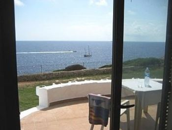 First line to sea villa in Cala Serena on popular complex, close to beach