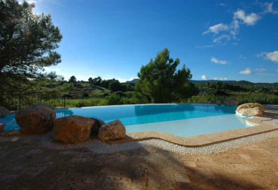 Newly built 5 bedroom stone Finca on large plot in Calvia countryside