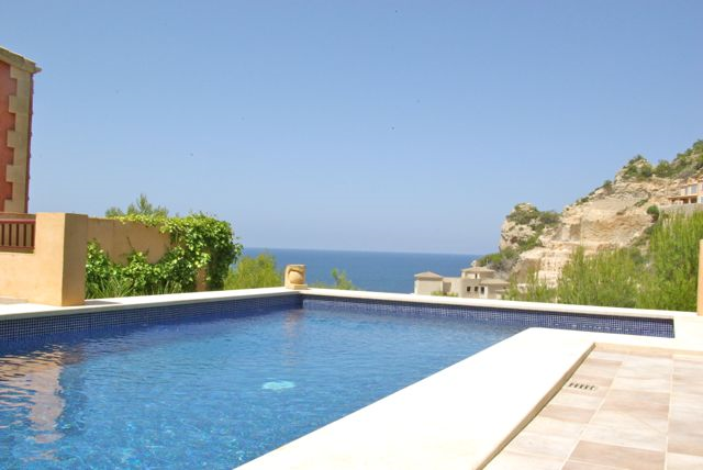 Sea view villa for sale in Puerto Andratx, Mallorca