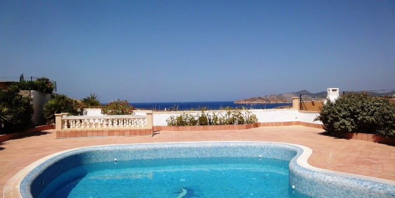 Mediterranean Sea view villa for sale in El Torro, Mallorca