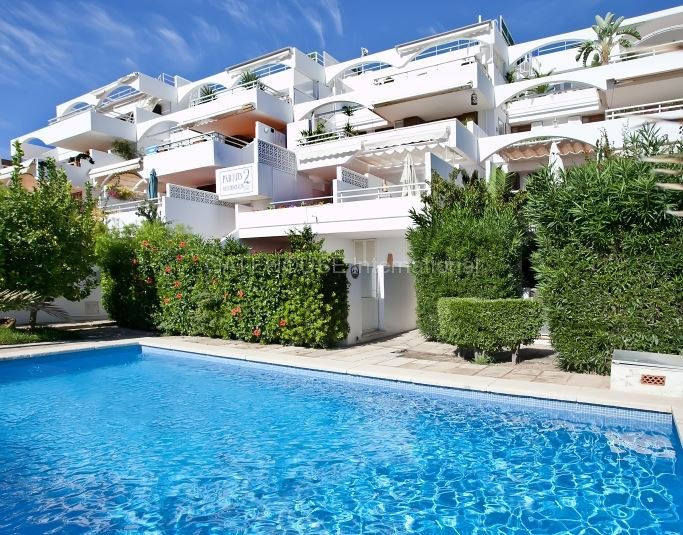 Ground floor apartment centrally located close to the Marina in Puerto Andratx