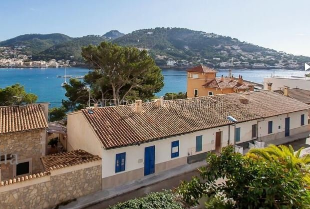 Townhouse overlooking the Port in Puerto Andratx