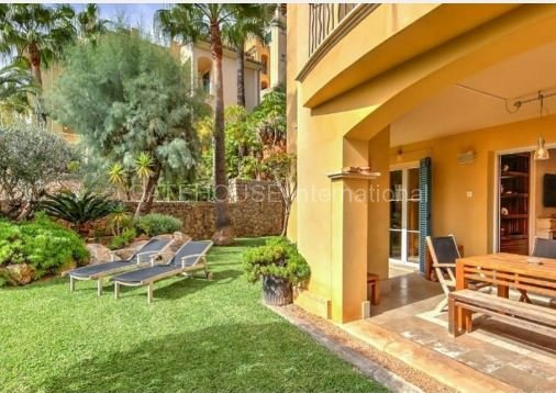 Exclusive Two bedroom garden apartment for sale in Cala Llamp