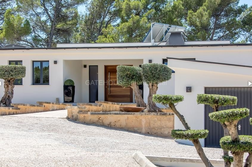 Modern luxury home for sale  with panoramic views in Calvia