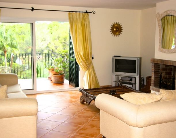 Penthouse duplex apartment for sale in quiet location in Bendinat, Mallorca