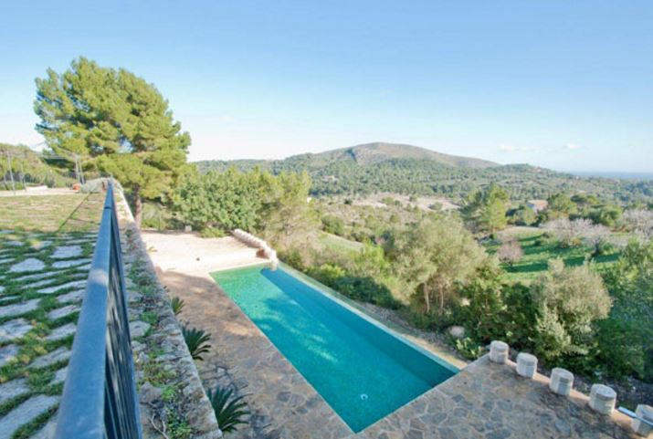 Luxury stone Finca in Son Macia with far reaching views
