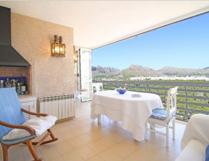 Apartment with spectacular views over Pollensa Bay