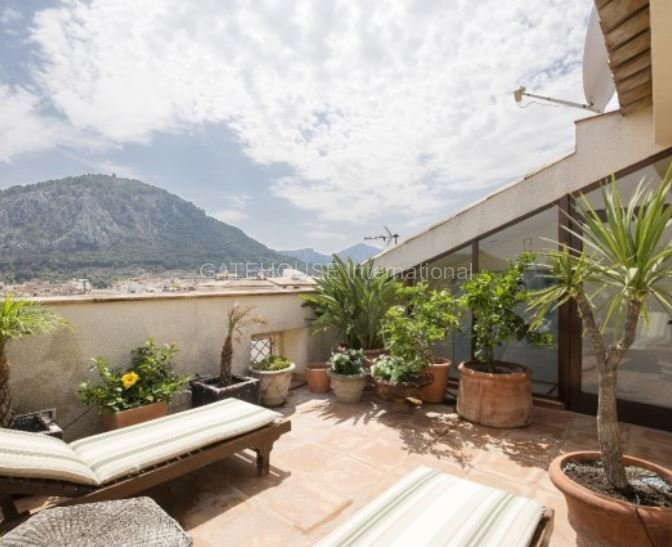 Luxury character Townhouse in Pollensa  with amazing views
