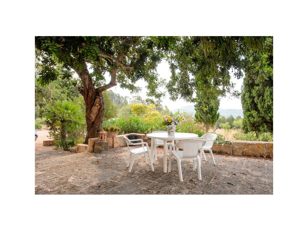 Mallorca rustic stone finca for sale Andratx with stables