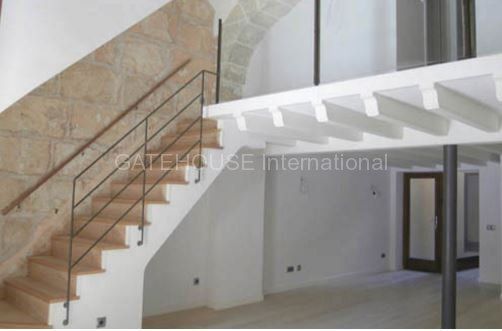 Palma Old town ground floor restored 2 bed apartment with terrace
