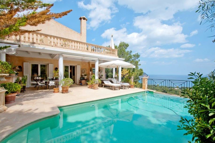 Luxury sea view villa for sale Canyamel Mallorca, recently reduced