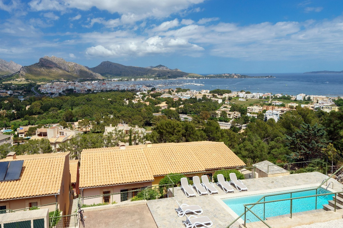 Puerto Pollensa sea view villa for sale in Gotmar area