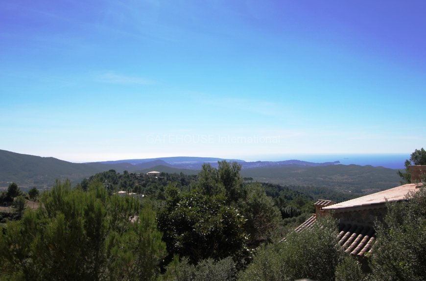 Son Font Mallorca country & sea view house with 5 bedrooms