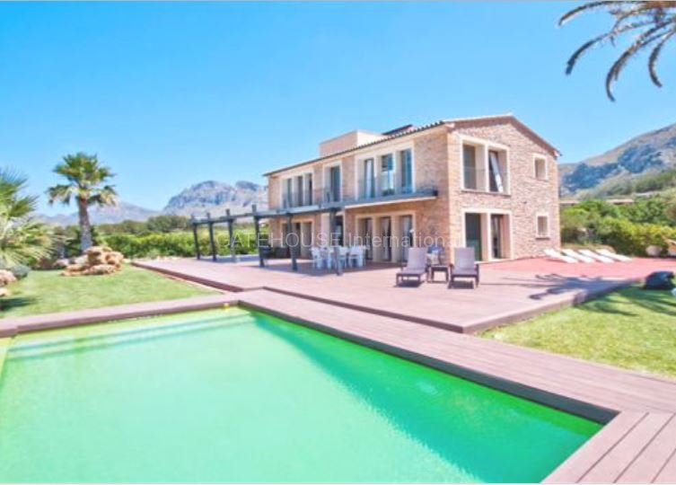 Luxury Front Line Home With Guest House For Sale In Colonia De San Pere