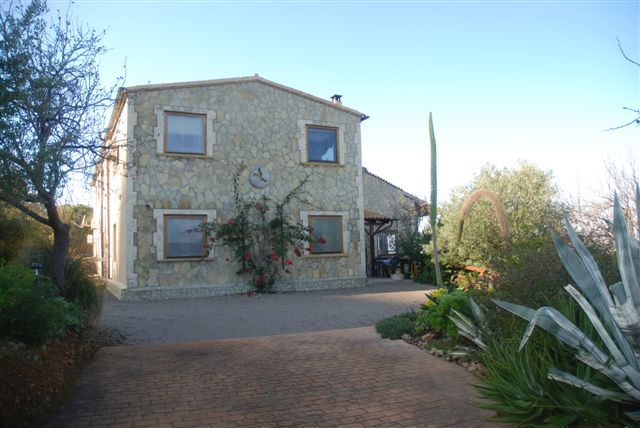 Greatly reduced property for sale in North East Mallorca with Sea Views