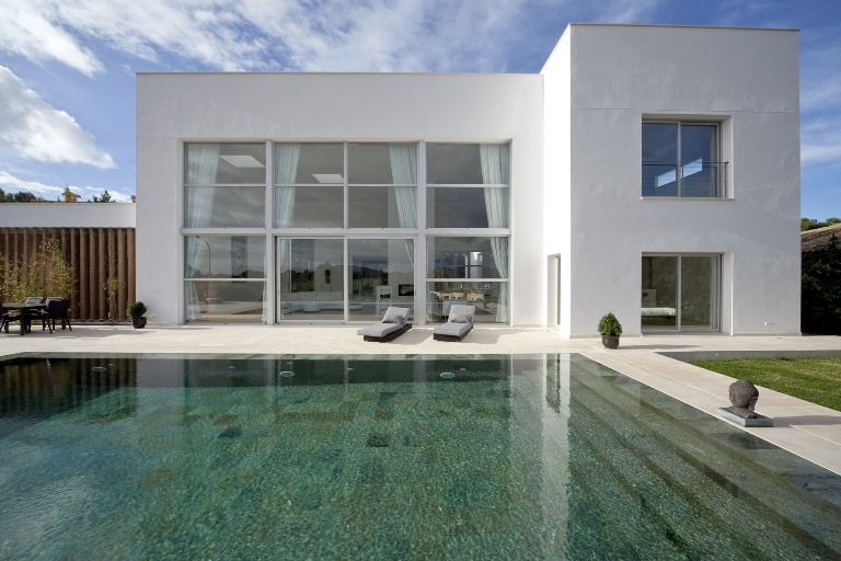 Luxury contemporary villa in quiet area of Santa Ponsa with countryside views