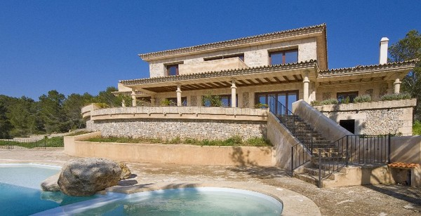 Newly constructed rustic house for sale in Santa Ponsa, Mallorca
