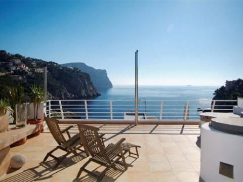Penthouse with sea access in Puerto Andratx Mallorca, 3 bedrooms