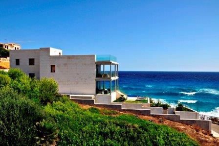 Contemporary Frontline home for sale in Cala Mesquida, Mallorca