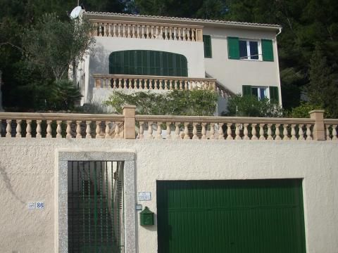 Villa with sea view in Font de sa Cala, Majorca